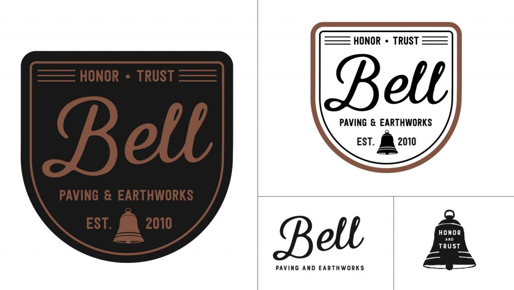 Bell Paving Logo and Logo Marks