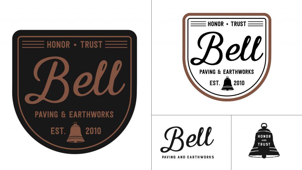 Bell Paving Logo and Logo Marks